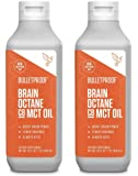 Bulletproof Brain Octane C8 MCT Oil from Coconut Oil, 32 Fl Oz Each, Provides Mental and Physical Energy, Keto and Paleo…