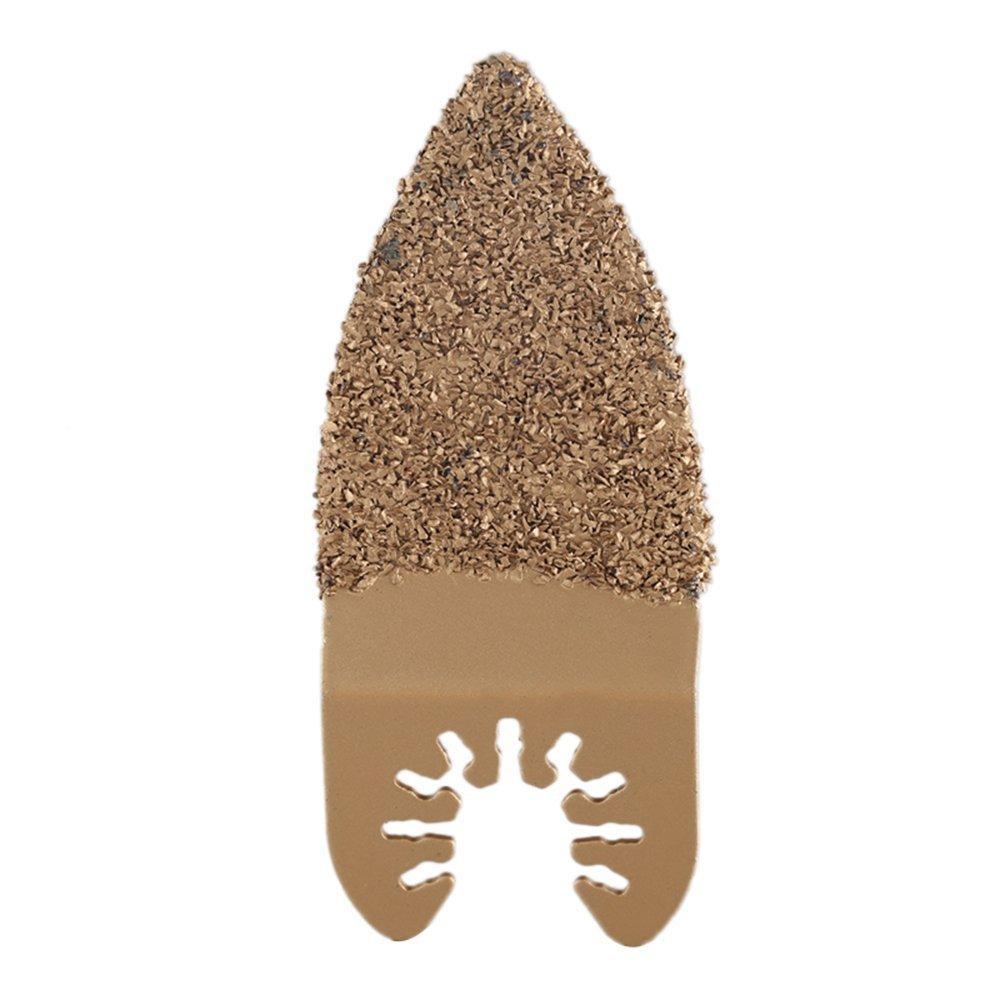 KitsPro 5 Packs Flooring Tile Grout Blade Pack Oscillating Multi Tool Saw Blades Fits Fein, Multimaster, Makita, Genesis Bosch, Dremel, Craftsman and more by KitsPro (Image #5)