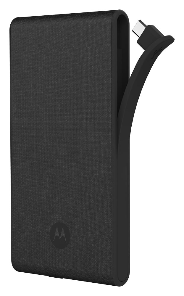 Amazon.com: Motorola P5100 Canvas Portable External Battery Pack - Dark: Cell Phones & Accessories
