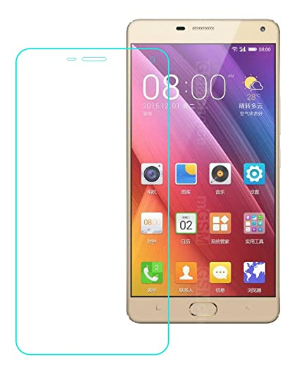 new style e9a60 f74da GIONEE S Plus Tempered Glass, GIONEE S Plus Screen: Amazon.in ...