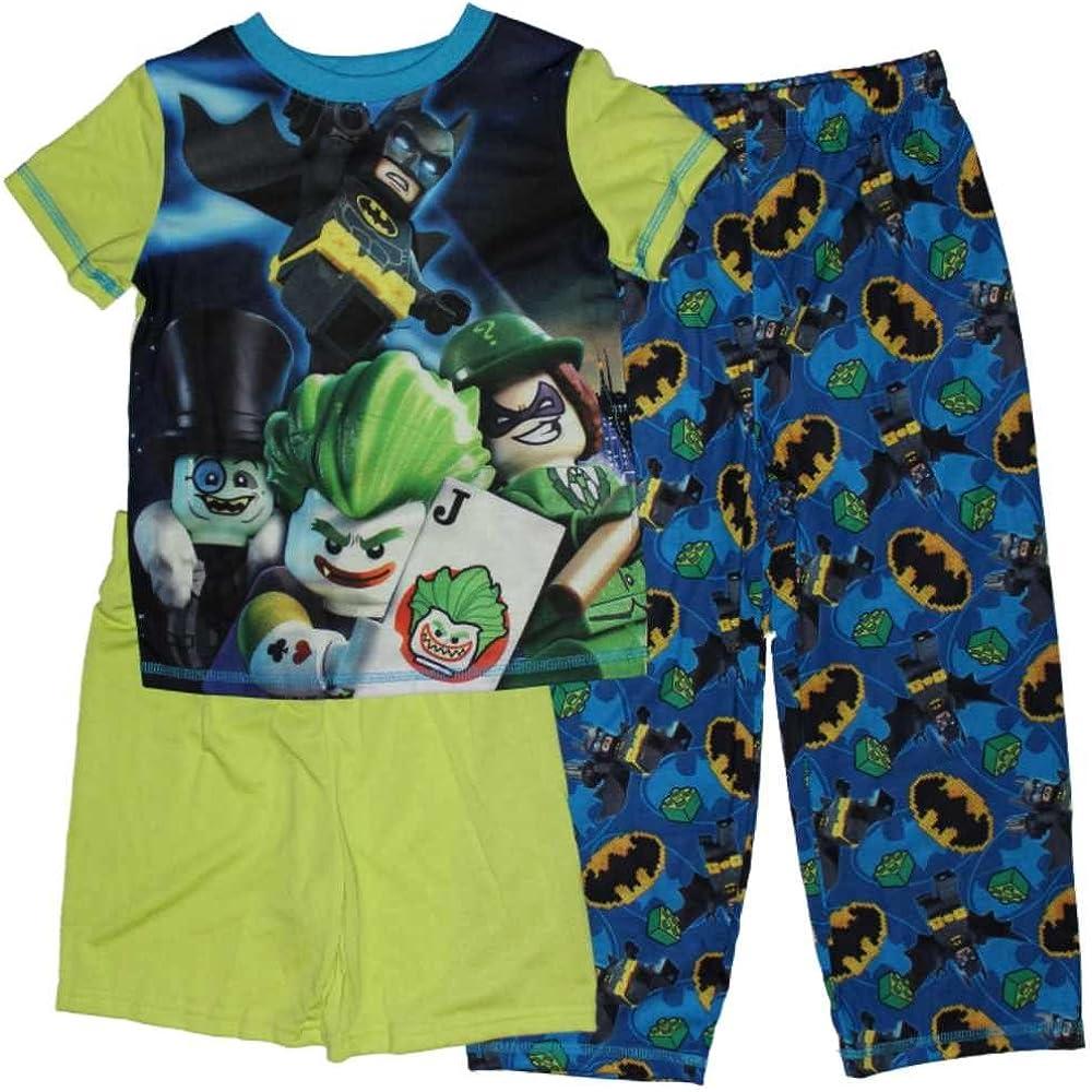 LEGO The Batman Movie Boys 3-Piece Pajamas 4-12