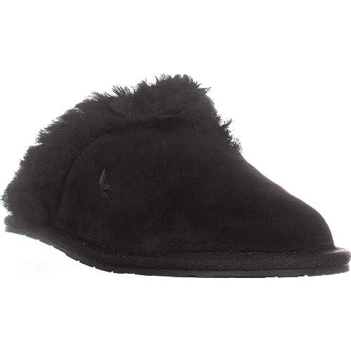 c9e7fabd7ee UGG Australia Mild Black Slip on Slippers, Black, 8 N US / 39 EU ...