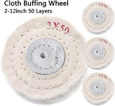 Rueda de pulido de algodón para pulir de 2 a 12 pulgadas, rueda ...
