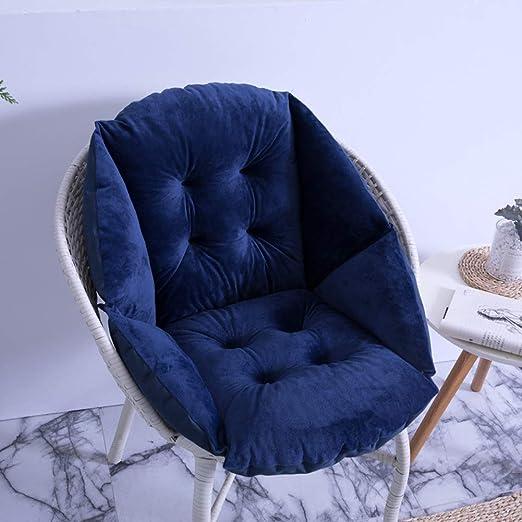 KongEU - Cojines de Respaldo para sillas, para Interior y Exterior, Cojines para Silla de jardín: Amazon.es: Jardín