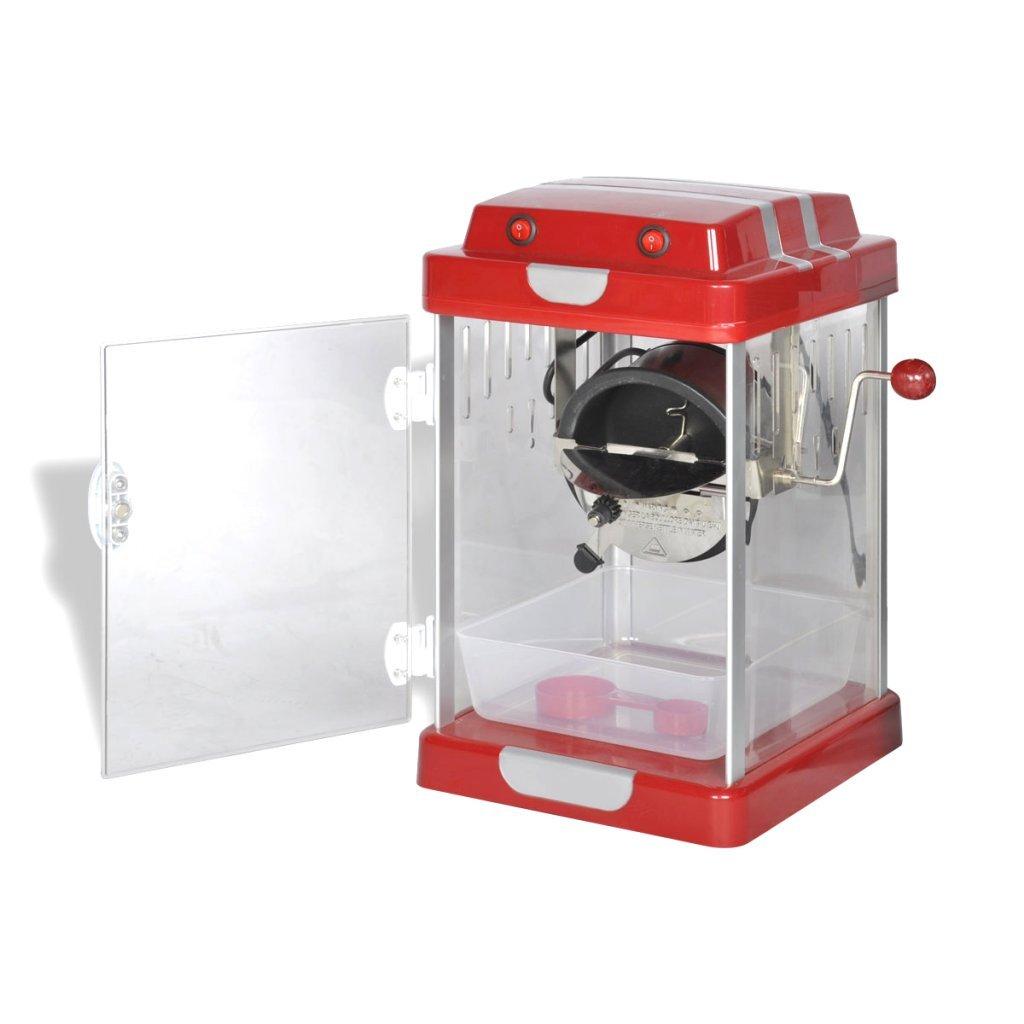 vidaXL Máquina para Hacer Palomitas de Maiz Caseras 2, 5 Oz Roja Palomitera: Amazon.es