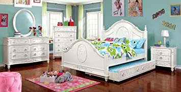 Amazon Com Northington Floral Girls 4 Piece Twin Bed 1
