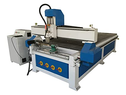 Amazon Com Stm1325 4 X8 Cnc Router Machine With 4th Rotary