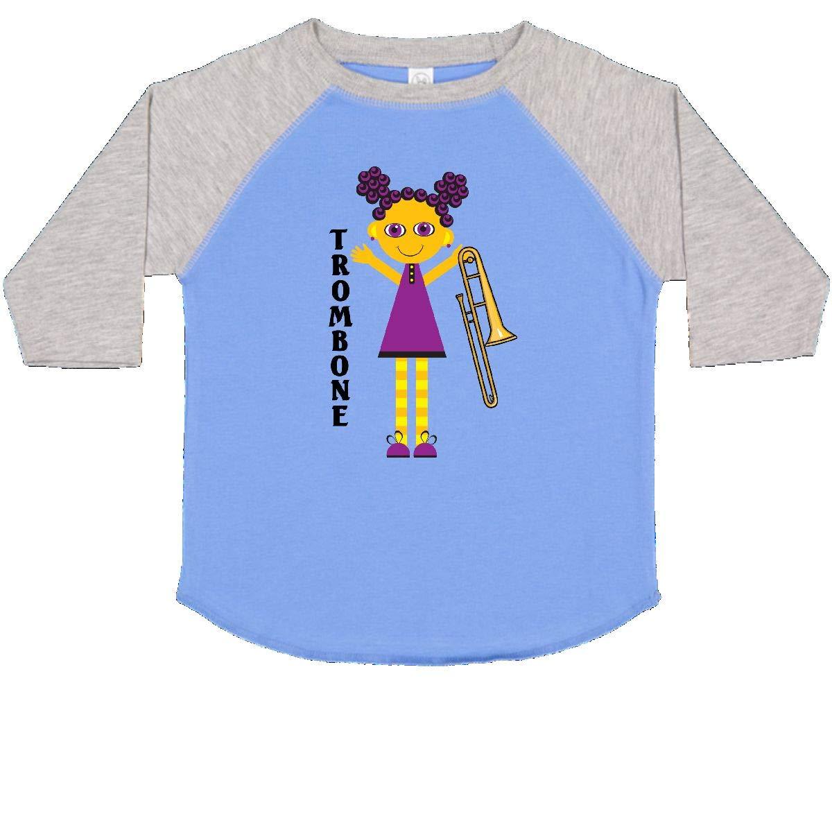 inktastic Cute Trombone Girl Toddler T-Shirt