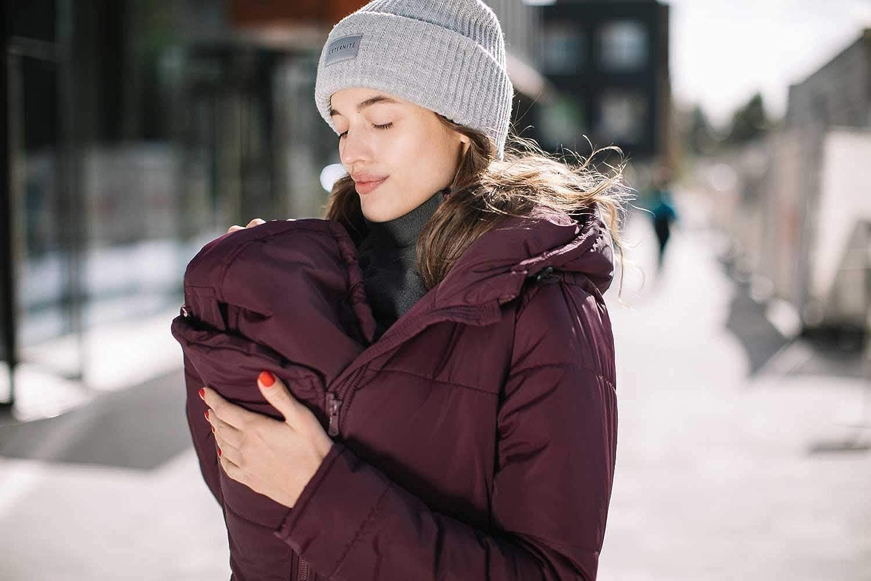Wintermantel Love /& Carry 3-in1 Babytragemantel Umstandsmantel