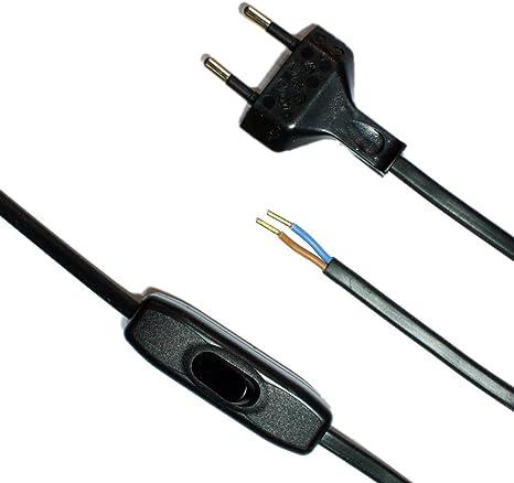 Cable de conexión para lámparas de mesa o de pie Leuchten CE 250 V ...