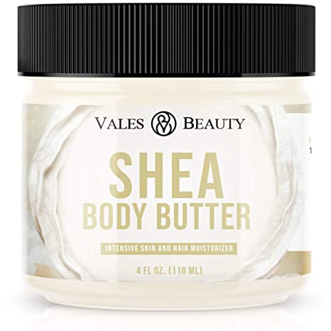 Amazon.com : Raw African Shea Butter Unrefined 100% Pure Natural Organic Ivory 4 oz - For All