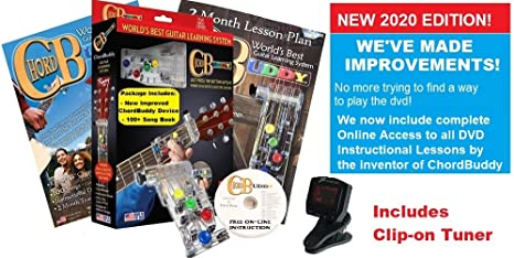 Sistema de aprendizaje de guitarra Chord Buddy con afinador ...