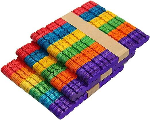 Healifty 100 piezas depresores de lengua de madera paletas de ...