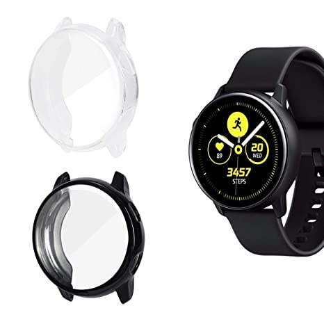 AIEVE Funda protectora para Galaxy Watch Active, funda ...