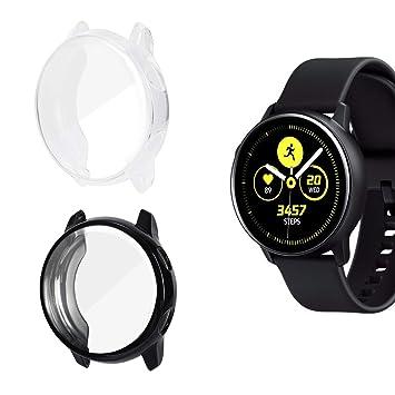 AIEVE Funda protectora para Galaxy Watch Active, funda ...