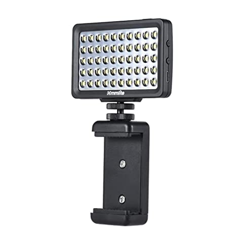 Commlite CM-L50 CoMiray multifuncional mini LED luz video para I ...