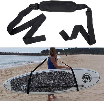 Adjustable SUP Stand Up Paddle Board Surfboard Carrier Sling Shoulder Strap