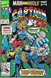 stan lee marvel comics - Marvel Comics & Stan Lee Presents; Captain America # 407, Man and Wolf, Part 6 of 6 (Vol. 1 No. 407, Sept. 1992)
