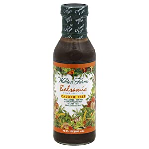 Walden Farms Calorie-Free Balsamic Vinaigrette, 12 Ounce (Pack of 6)