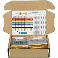 BOJACK 1350 piezas 50 Valores Resistor Kit 0