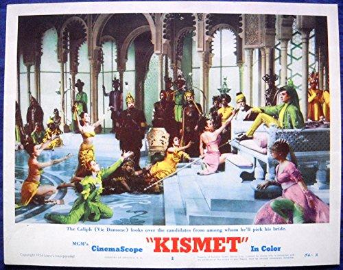 KISMET MOVIE POSTER Vic Damone and his Harem of Brides l/c #2-1956