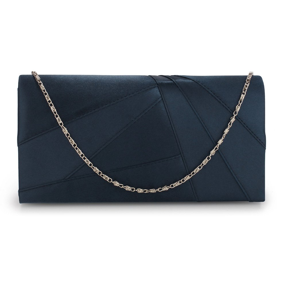 529de26e05 ANNA GRACE Womens Purse Clutch Bags For Weddings Party Bags For Girls  Designer Bags For Women (A - Navy1): Amazon.co.uk: Shoes & Bags