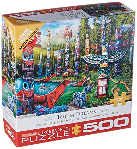 EuroGraphics (EURHR Canadian Dream 500Piece Puzzle 500Piece Jigsaw Puzzle