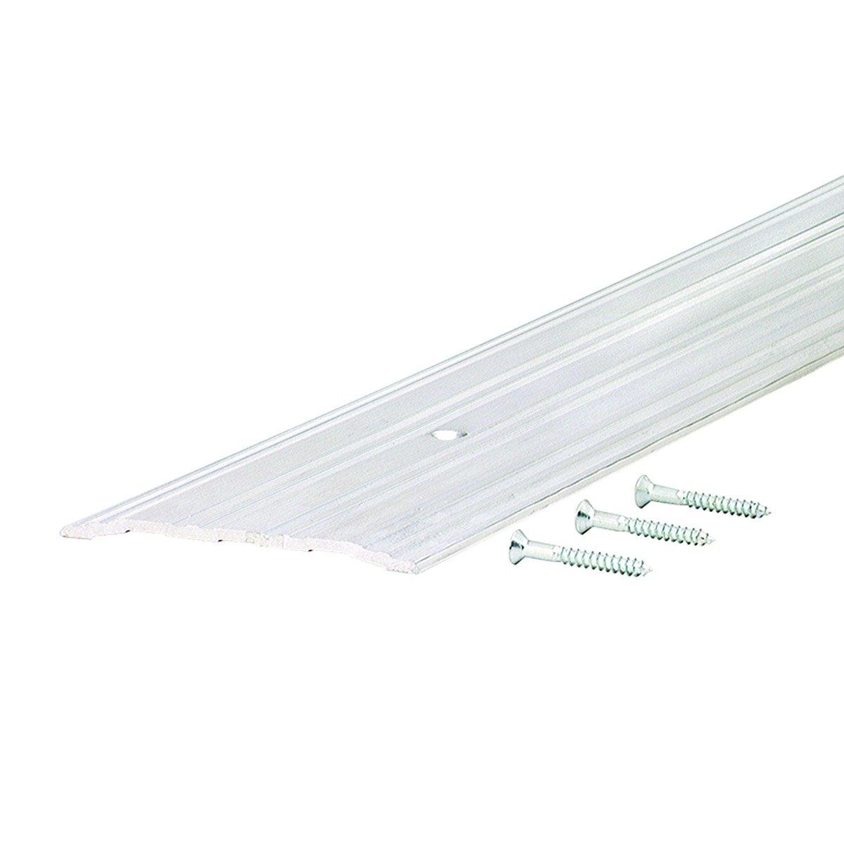 Commercial 5'' Wide Low Fluted Top Aluminum Door Threshold -#99063