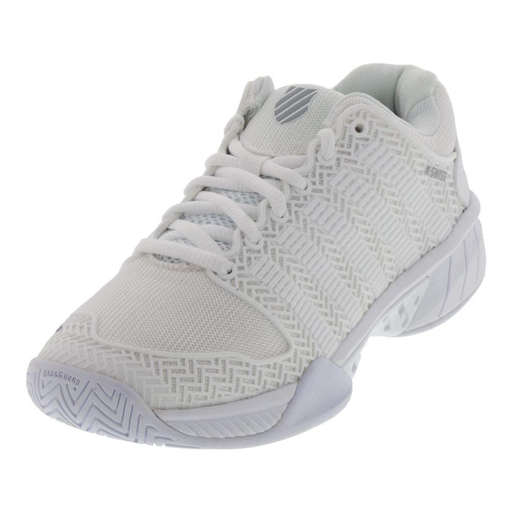 K-Swiss Women's Hypercourt Express Tennis Shoe B079463VTX 10 B(M) US|White/Highrise