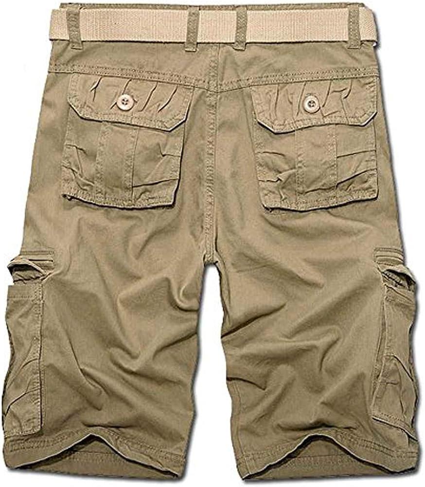 AKARMY Must Way Mens Lightweight Cargo Shorts Utility Work Short
