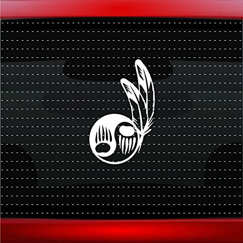 Bear Paw #17 Indian Native American Car Sticker Truck Window Vinyl Decal COLOR: COPPER]()