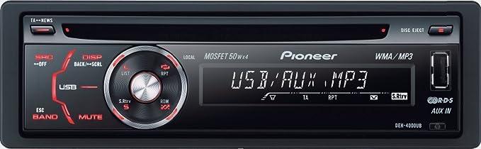 pioneer deh 4000ub usb cd mp3 car radio amazon co uk electronics rh amazon co uk pioneer mosfet 50wx4 deh-4000ub manual pioneer mosfet 50wx4 deh-4000ub manual
