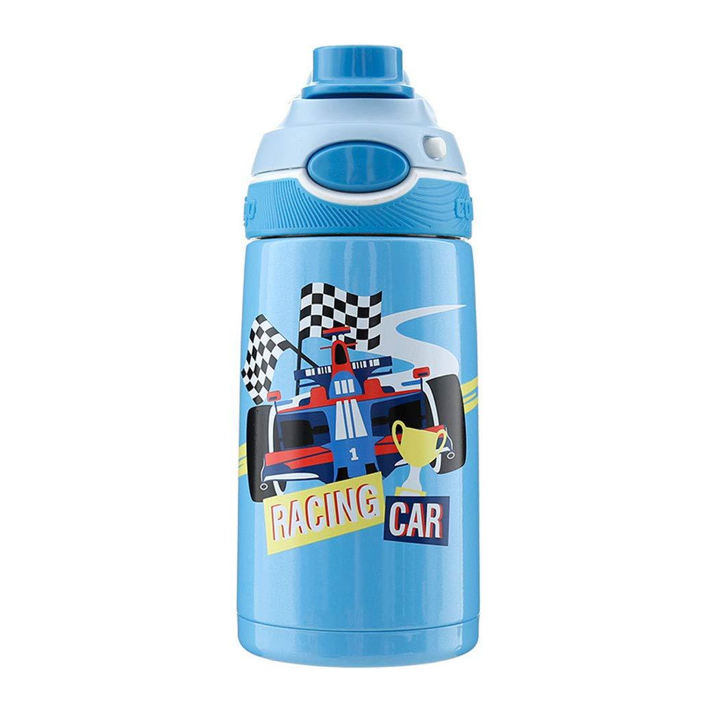 【全品送料無料】 ステンレス鋼の真空フラスコ子供のカップの漫画の藁ポータブルスポーツカップ400ミリリットル (Color (Color : : 2) 2 2 B07JVG8HBM, オーディオユニオン:949bd245 --- a0267596.xsph.ru