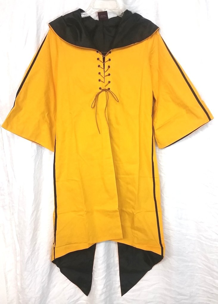 Harry Potter Quidditch Hufflepuff Robe Habber & Dasher Discontinued SIZE - YOUTH LARGE