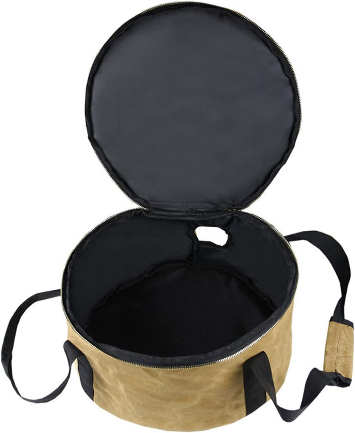 Camping Pot Storage Bag, Camping Cookware with Pot Handle Hole, Dutch Pot Storage Bag, for Outdoor Camping Picnic Carry Bag, Pressure Cooker Travel Tote Bag,1