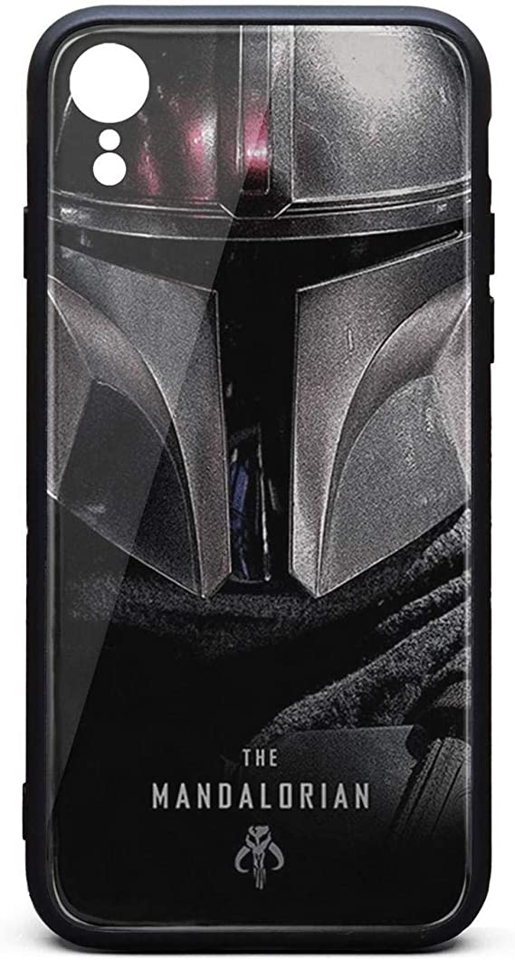 Personalised Mandalorian Glass Case Phone Cover for Apple iPhone 8 Plus