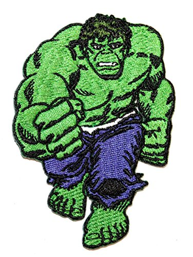 Blue Heron Marvel Comics The Incredible Hulk Embroidered Iron/Sew-on Applique Patch -