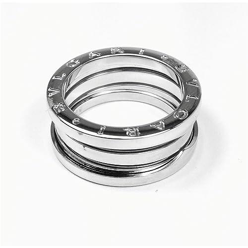 965ee53e2e2e BULGARI B.ZERO1 3-band ring 18kt white gold AN191024 55  Amazon.es  Joyería