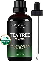 Tea Tree Essential Oil by Fiora Naturals- 100% Pure Organic Tea
