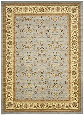 """Safavieh Lyndhurst Collection LNH312B Traditional Oriental Light Blue and Ivory Area Rug (5'3"""" x 7'6"""")"""
