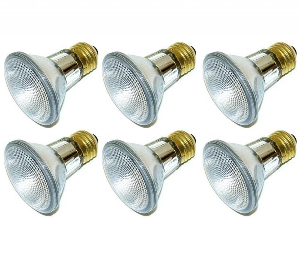 39-watt Energy Saving Halogen PAR20 Reflector, (6 Pack)