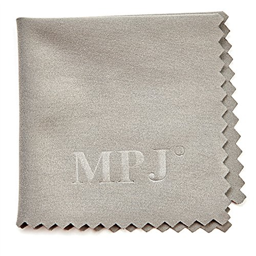 MPJ Extra Large Microfiber Cleaning Cloths - 6 Pack - 12 x 12 inch + 1 Pack 5.5x5.5 inch by MPJ