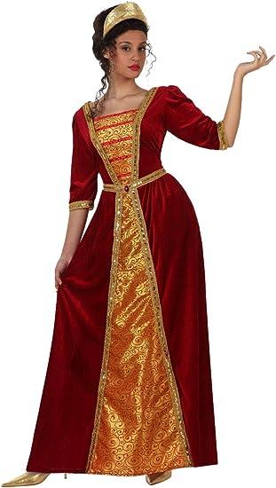 Atosa - Disfraz de princesa medieval para mujer, talla M (38-40 ...