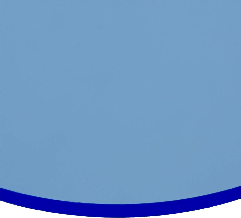 Kreiszuschnitt aus Acryl Plexiglas/® transparent 38 cm Durchmesser 4mm XT
