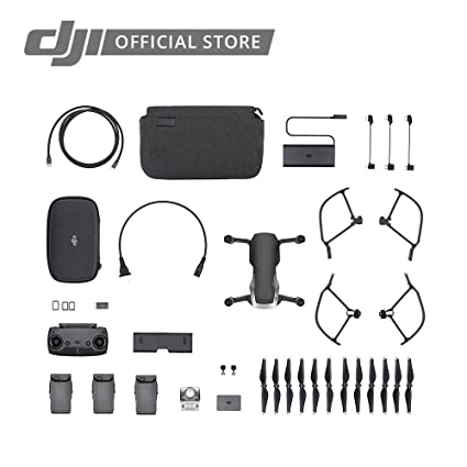 51caa4a6b12 Amazon.com: DJI Mavic Air, Fly More Combo, Onyx Black: Camera & Photo