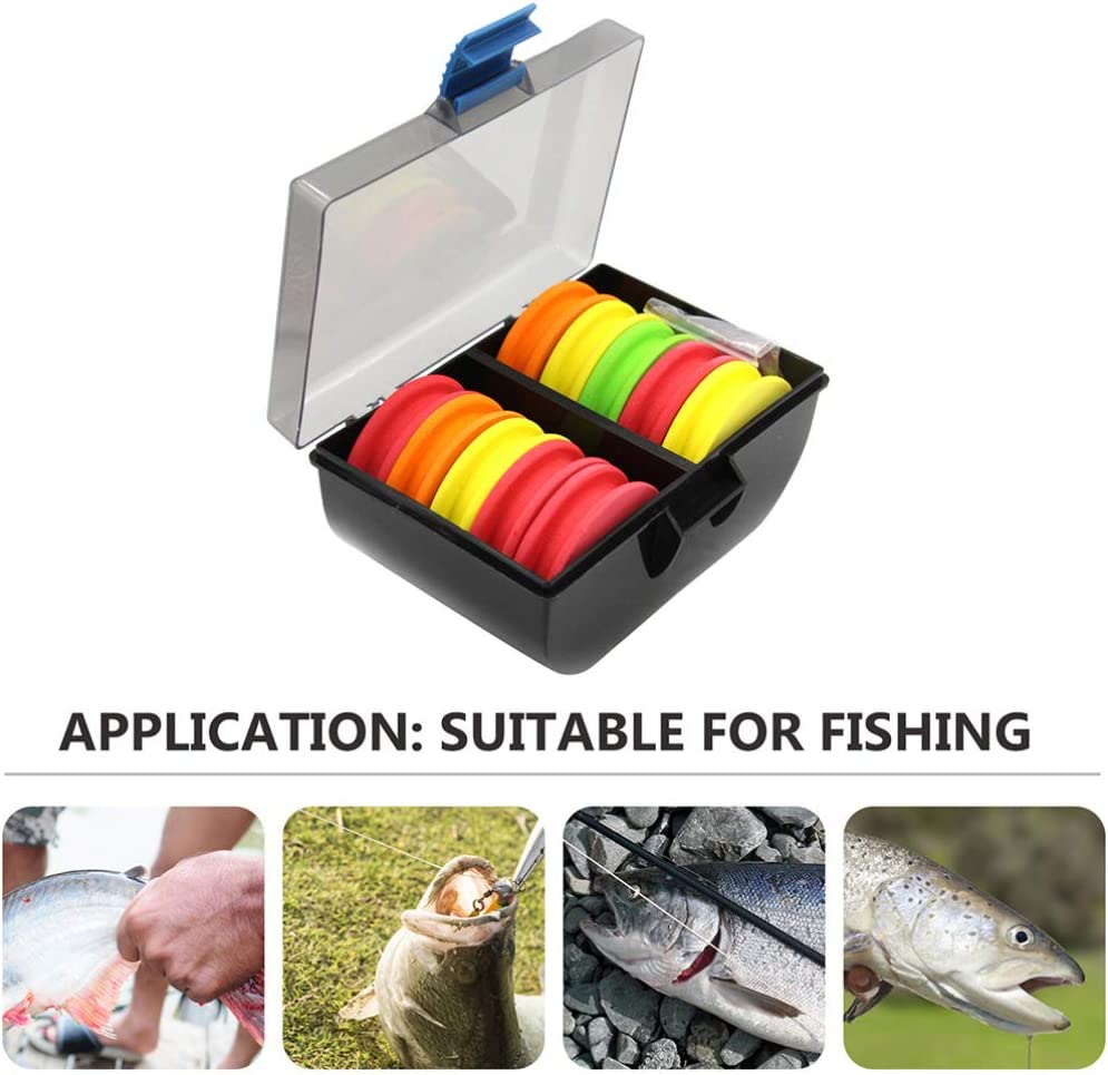 VORCOOL 10pcs Fishing Line Spools Fishing Gear Accessories Fishing Snell Leader Rigs Foam Spool for for Fly Fishing Tippet Holder Line Organizer Storage