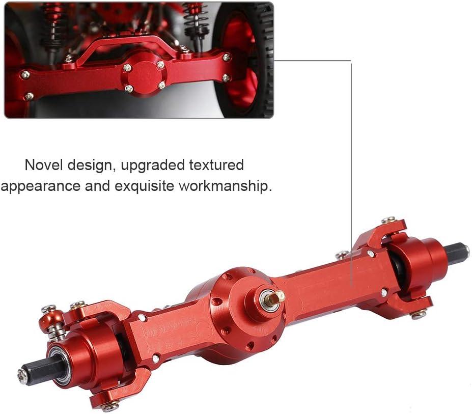 Montloxs Aluminum Alloy Full Front Axle for D90 MN-90 MN-99 MN-91 FJ-45 RC Car 1//12 Rock Crawler Upgrade Parts