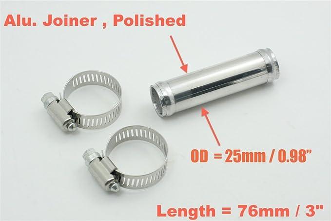 L 12 OD 3 300mm per Intercooler tubo 90 gradi Tubo della lega di alluminio tubo di aspirazione e luso universale cromo polacco 76mm