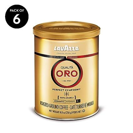 Lavazza Qualita Oro mezcla de café molido, tostado medio ...