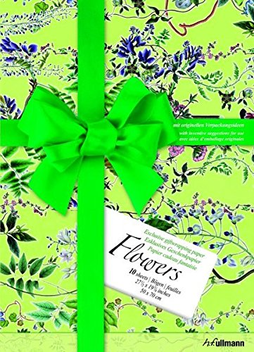 Read Online Gift Wrap Paper Flowers (Giftwrap Papers) PDF